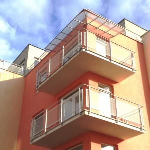 Konsorcium - KOVO vyrábí kvalitní zábradlí na balkony a lodžie