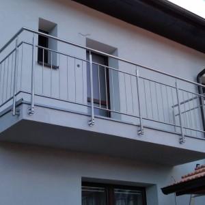 Nerezové zábradlí na balkóně od Konsorcium-KOVO